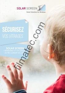 Filmatec brochure securite solar screen fr