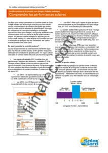 Filmatec bulletin technique comprendre les performance solaires solar gard fr